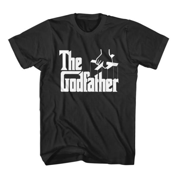T-Shirt The God Father is a parody funny t-shirt inspired from movie The Godfather Al Pacino. Unisex men S, M, L, XL, 2XL color black and gray. Free shipping USA, UK and worldwide.