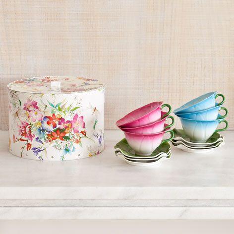Box met Koffie- en Theeservies - Voor het Nieuwe Huis - Geschenken   Zara Home Netherlands