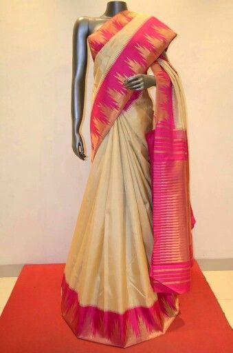 Traditional kancheepuram silk