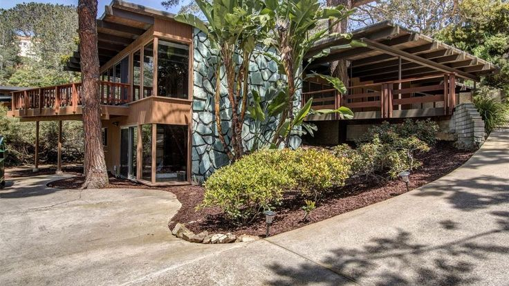 Designed by well-known Bay Area architect Robert Klemmedson, the 2,974-square-foot four-bedroom is on the market for the first time ever and boasts virtually all original details.