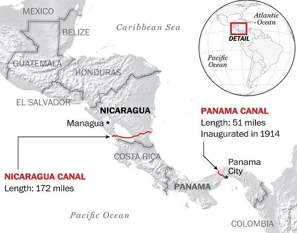 Why the Chinese-backed Nicaragua canal may be a disaster (The Washington Post)