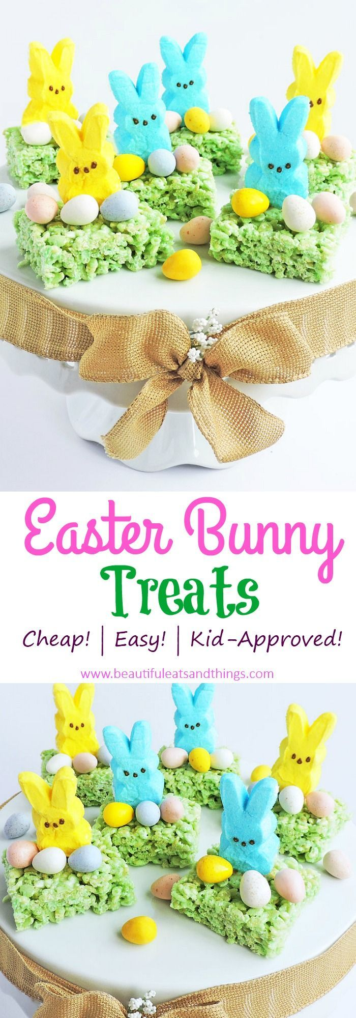 Easy Easter Bunny Treats-Cute Ideas for Easter Treats. #easter #eastercrafts #ea…   – Easy Easter Ideas