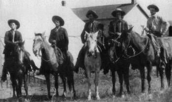 Marlow brothers from Oklahoma, The movie Sons of Katie Elder was based on their story.