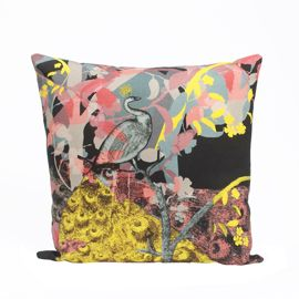 """LAURA OAKES"" Laura Oakes Enchanted Forest Cushion at Heal's"