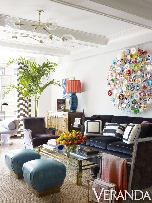 HOUSE TOUR A Park Avenue Apartment Gets Vivid Downtown Vibe