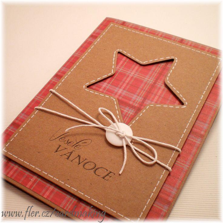 ...vánoční přání (25)..... Přáníčko o velikosti 10,5*14,5cm. Obálka je součástí přáníčka.  Pozn: pokud se Vam libi neco z jiz prodeneho zbozi a mate o nejake pranicko zajem, staci napsat. Rada Vam jej dovyrobim.