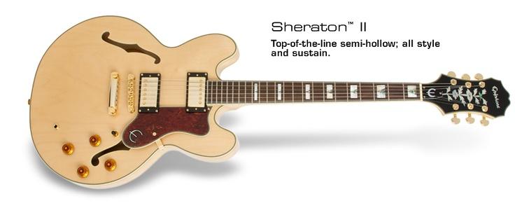 Mi guitarra: Epiphone Sheraton II