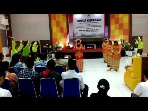 UKRG Minangkabau Dance at Telkom University, November 10, 2015