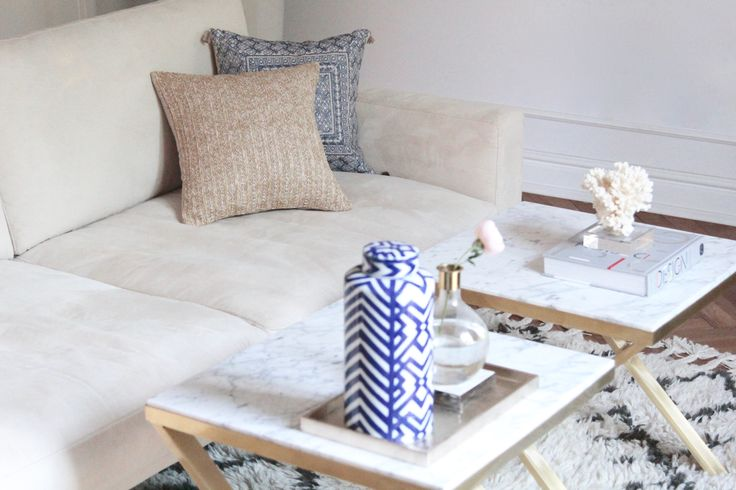 Brass & Marble coffee table by Magdalena Tekieli Order magdalena@tekieli.pl 3 min