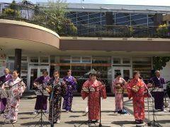 ベイサイドプレイスでOkinawa in baysideが開催されています 三線やエイサー琉球舞舞などなど楽しめますよ  #ベイサイド #沖縄  tags[福岡県]