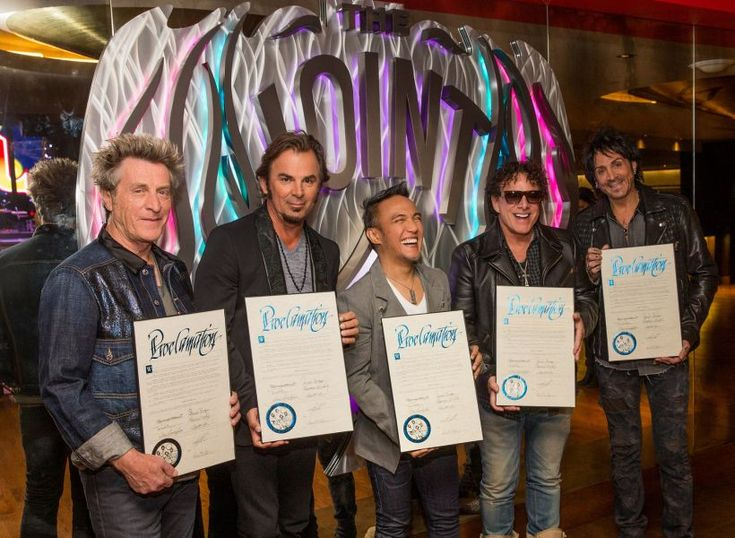 """The rock band Journey will perform its first-ever, nine-show residency, """"Journey Las Vegas"""", at The Joint at Hard Rock Hotel & Casino beginning April 29 through May 16. Clark County officials declared April 29 as Journey Las Vegas Day in honor of the band coming to Las Vegas."""