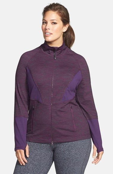 Free shipping and returns on Zella 'Sonic' Space Dye Jacket at Nordstrom.com. Contrast panels enhance breathability and lend flattering feminine definition to a lightweight space-dyed jacket constructed with flatlock seaming for an irritation-free run.