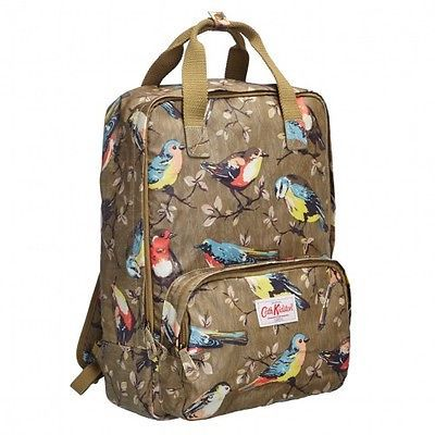 Cath Kidston backpack Garden Birds Olive BNWT | eBay