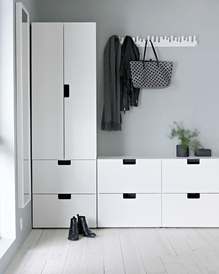 Idea for the hallway - Ikeas Stuva kids collection