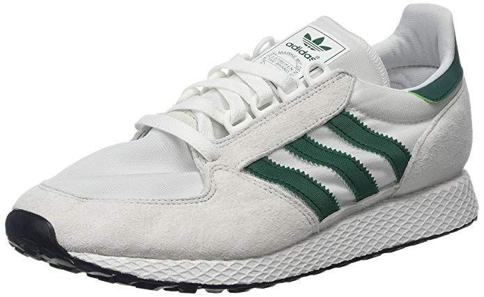 Adidas superstar weiß und grüne Streifen