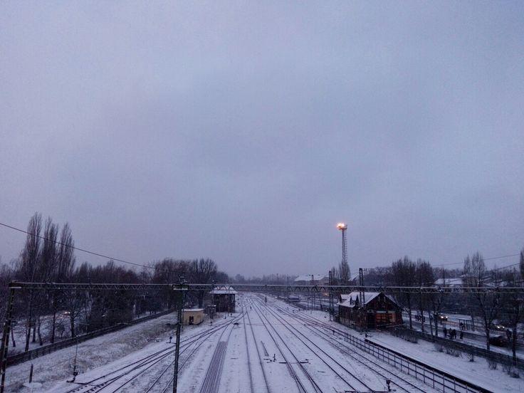 It's snowing, finally!!!