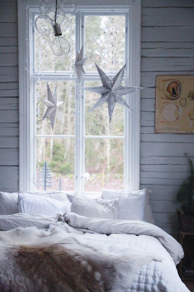 Christmas Stars - Adventsstjärnor - Att vara någons fru blogg