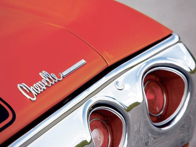 72 Chevelle tail lights
