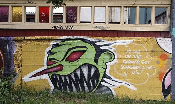 Grafiti, nice work
