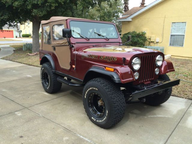 1979 Jeep Cj5 Golden Eagle Sport Utility 2 Door 5 0l Jeep Cj5 Jeep Jeep Doors