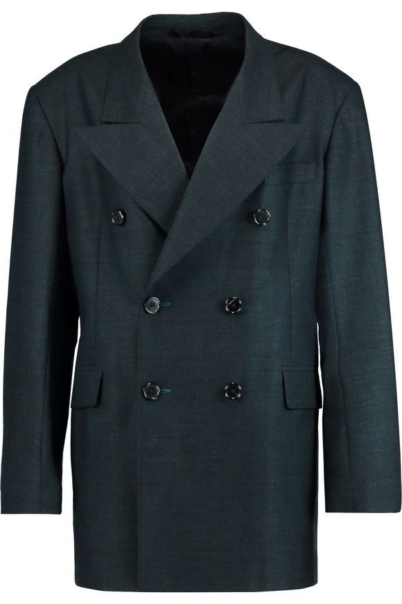 Wool-blend blazer | MAISON MARGIELA | Sale up to 70% off | THE OUTNET