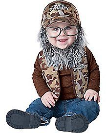 Baby Uncle Si Costume - Duck Dynasty