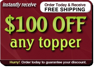Natural Latex Topper Sale | Talalay Latex Toppers and Mattress Pads#tabs