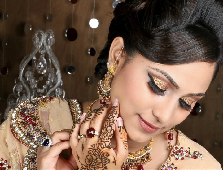 Makeup For Mehndi Night : Best my indian bridal makeup images