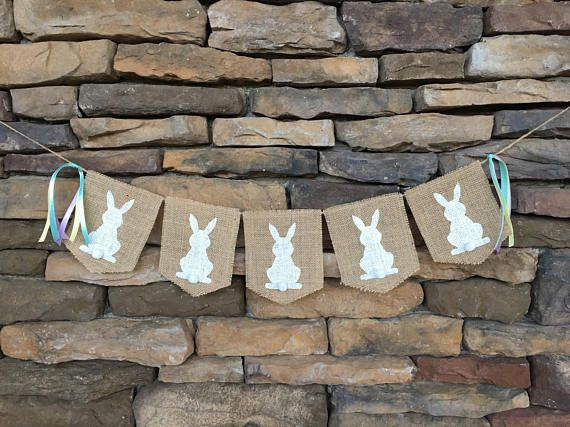 Hey, I found this really awesome Etsy listing at https://www.etsy.com/listing/271144508/easter-burlap-banner-easter-garland