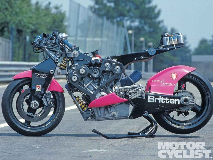 Britten bike frame