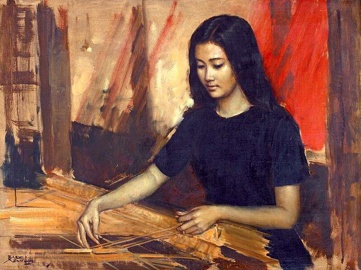 Weaving by Abdullah Basuki
