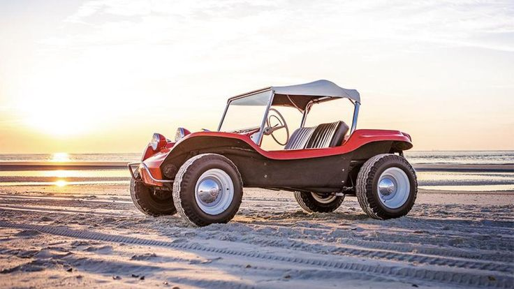 """Fifty years ago, a surfboard-making, Steinbeck-quoting beach bum by the name of Bruce Meyers pushed out of his Newport Beach garage """"Old Red,"""" the first fiberglass dune buggy in the world. Meyers ..."""