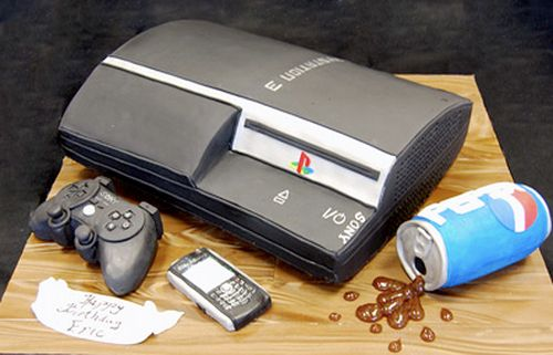 cool cake ideas for men playstation