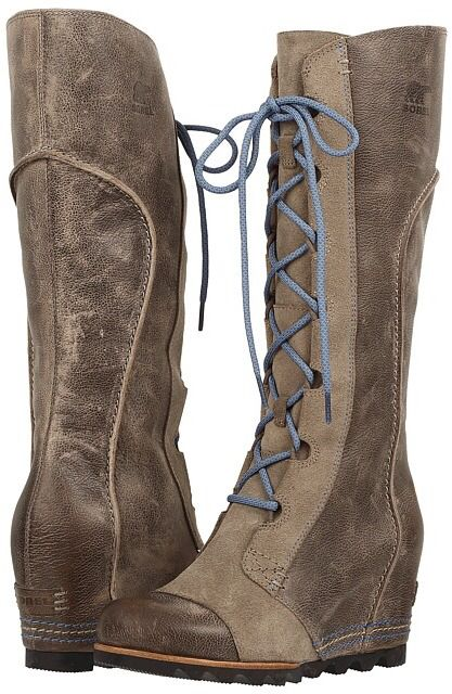 SOREL Cate the Great Wedge on sale at 6pm! #boots #winterboots #sorel #sale #catethegreat