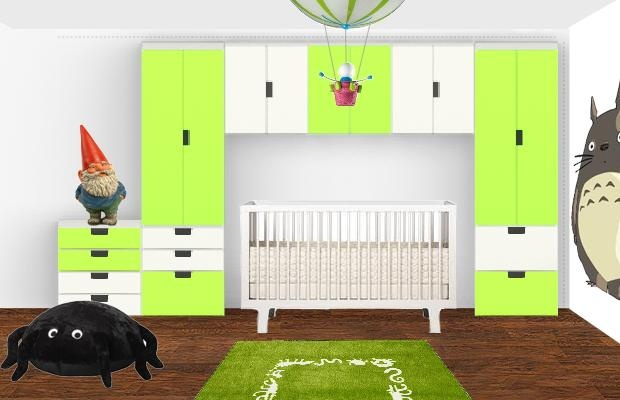 a kind of project for the baby room  (Ikea furniture & other stuff)