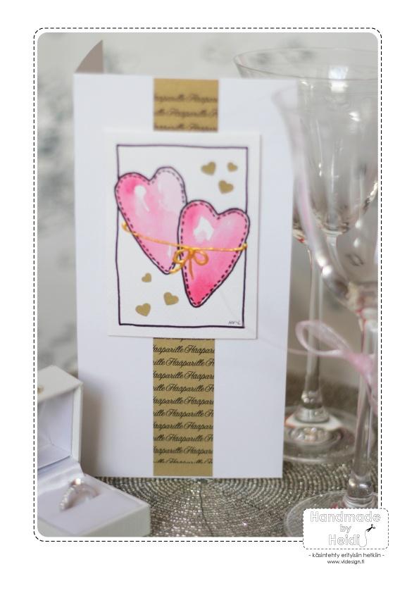 Wedding / Kortti hääparille.