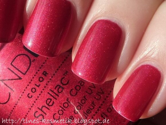 Red Baroness Nails Pinterest Red