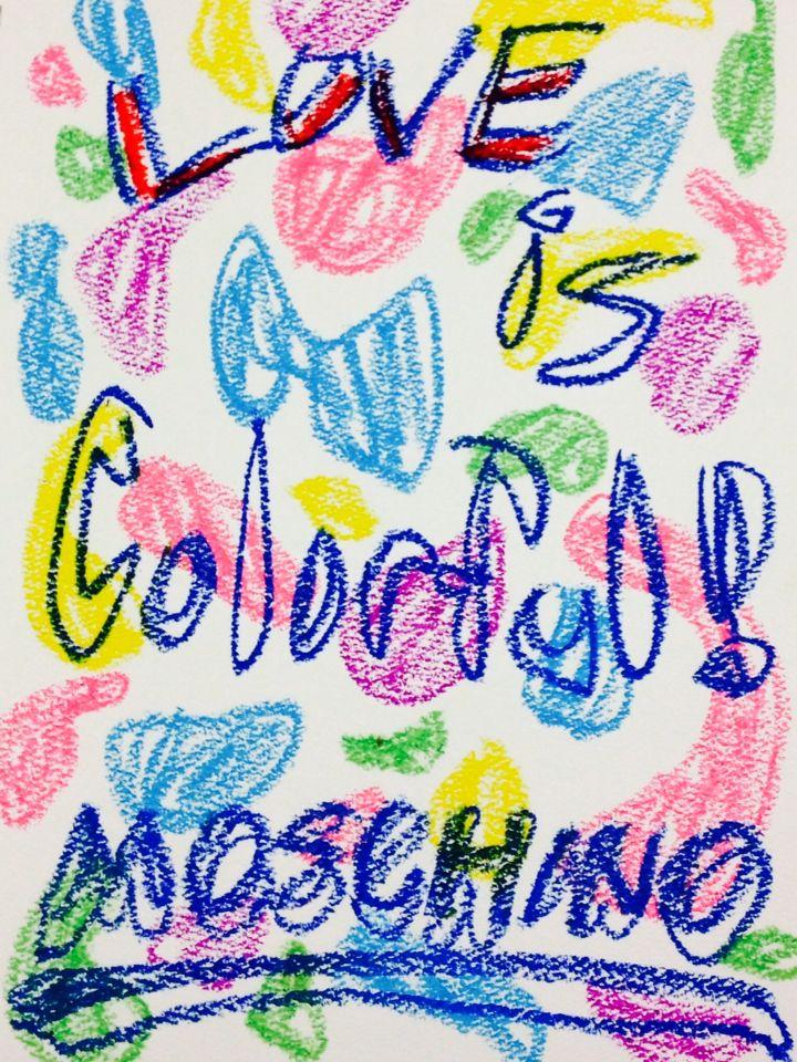 #moschino #2015ss #fashion #illustration