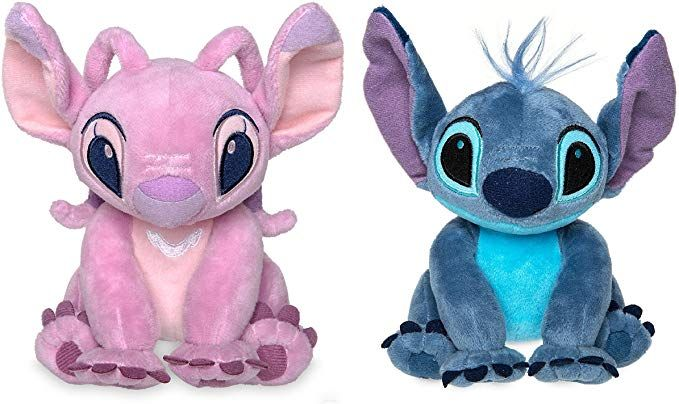 Disney Stitch And Angel Mini Plush Doll Set Lilo And Stitch 6 Inch