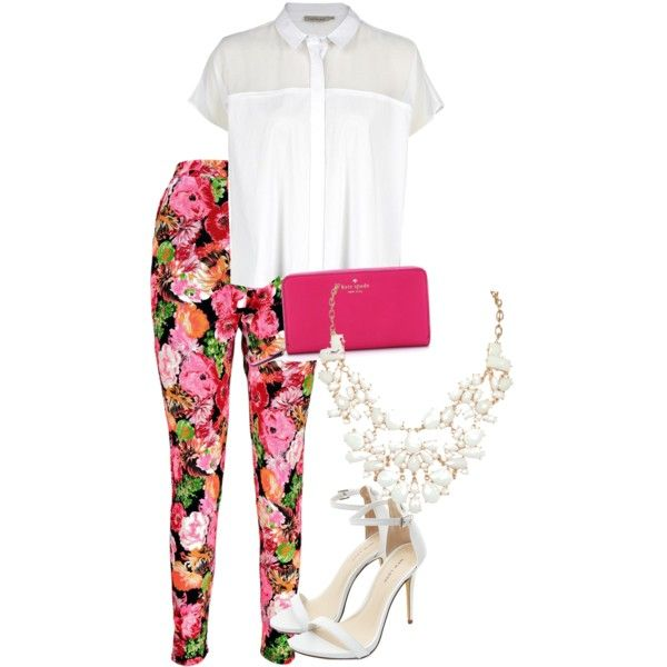 Untitled #16 by lazytea148 on Polyvore featuring polyvore fashion style Calvin Klein Boohoo Kate Spade
