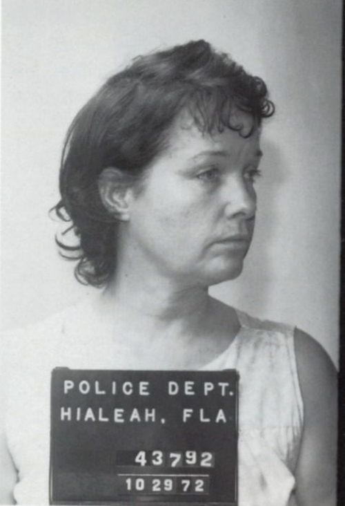 Bettie Page mugshot