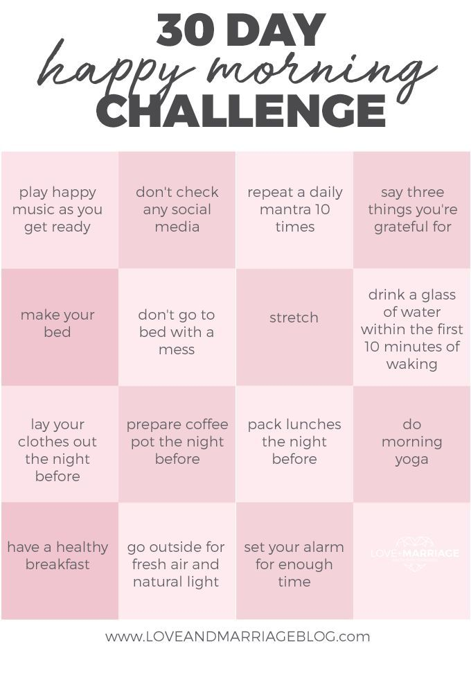 30 Day Happy Morning Challenge – #challenge #Day #…
