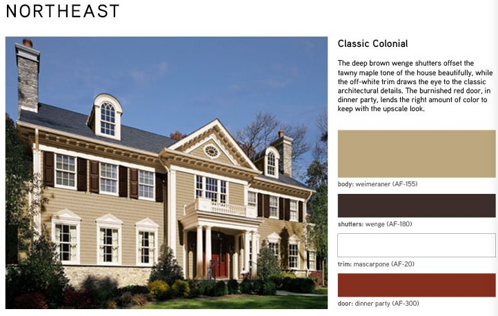 Best 25 behr exterior paint ideas on pinterest behr - Benjamin moore exterior color combinations ...
