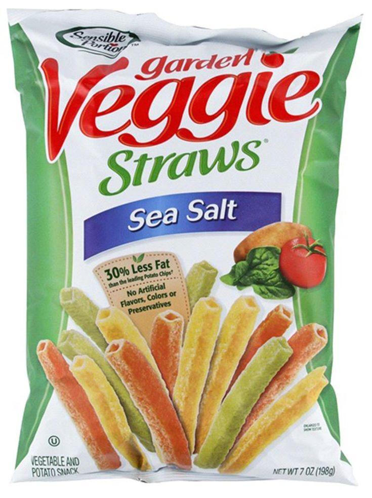 SENSIBLE PORTIONS: Garden Veggie Straws Sea Salt, 7 oz