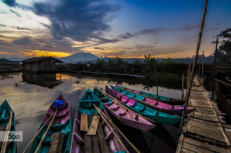 Photograph Colorful Sunset by Franciscus Satriya Wicaksana on 500px