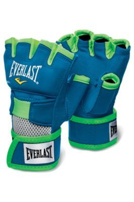 Everlast® Evergel Hand Wraps Blue and Green - Sears | Sears Canada