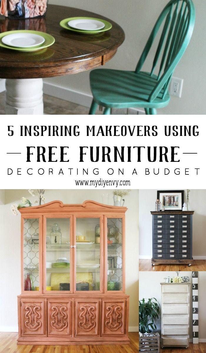 5 Inspiring Free Furniture Makeovers