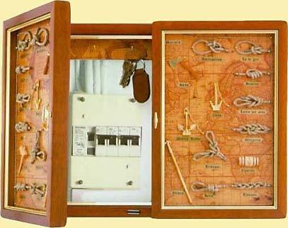 Tapa t rmicos cubre cuadro el ctrico con cuelgallaves y - Tapa cuadro electrico ikea ...