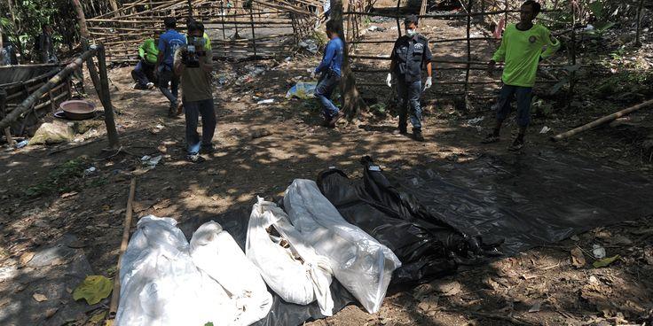 INTERNATIONAL - 26 corps ont été retrouvés dans une fosse commune serait liée au trafic d'êtres humains dont l'ethnie des Rohingyas est victime.