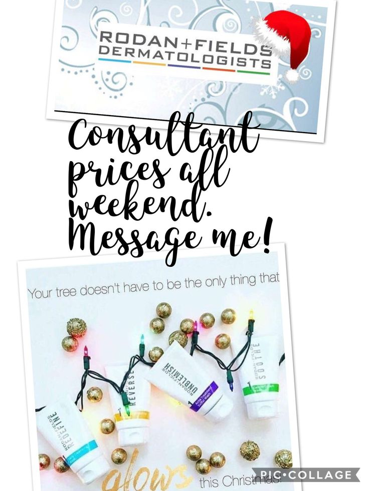 Give the gift of great skin this Christmas! Message me for consultant pricing through Cyber Monday! www.robinboothe.myrandf.com